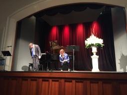 Recital - Cheryl Barker and David Wickham