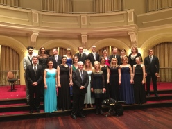 Government house ballroom Gala Concert
