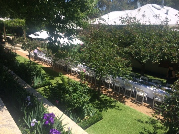 Margaret Rivers Secret Garden - Long Table Lunch